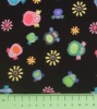 Fabric by the Metre - 127 Birds & Flowers - Black