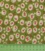 Fabric by the Metre - 141 Flowers - Green