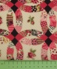 Fabric by the Metre - 193 Patchwork Circles - Cerise