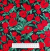 Fabric by the Metre - 786 Poppies - Black