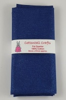 Fat Quarter - JLC205 Glitter - Royal