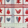 Fabric by the metre - 298 Christmas - Ivory