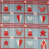 Fabric by the metre - 298 Christmas - Silver Grey