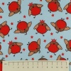 Fabric by the Metre - 862 Robins - Blue