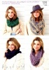 Knitting Pattern - Hayfield 7243 - Super Chunky With Wool - Snoods