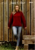 Knitting Pattern - James C Brett - JB641 - Norske Chunky - Sweater