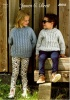Knitting Pattern - James C Brett - JB642 - Norske Chunky - Sweater