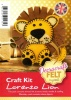 Lorenzo Lion - Felt Craft Kit