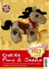 Pony & Saddle - Felt Craft Kit