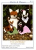 Knitting Pattern - Knits & Pieces KP23 - DK - Foxy & Badger - Glove Puppets
