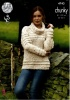 Knitting Pattern - King Cole 4743 - Chunky - Ladies Cardigan & Sweater