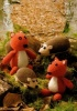 Knitting Pattern - King Cole 9012 - DK - Hedgehog & Squirrel