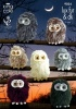 Knitting Pattern - King Cole 9024 - DK - Baby Owls