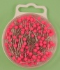 Plastic Headed Pins - Neons - 32mm x 0.60mm