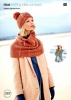 Knitting Pattern - Rico 777 - Creative Soft Wool Aran - Jacket, Snood & Hat