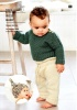 Knitting Pattern - Rico 1041 - Baby Dream DK Uni - Baby's Sweater, Leggings & Hat