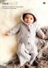 Knitting Pattern - Rico 793 - Baby Dream DK Uni - Baby Sleeping Bag