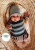Knitting Pattern - Rico 974 - Baby Dream DK - Sweater, Jacket and Hat
