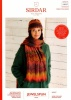 Knitting Pattern - Sirdar 10027 - Jewelspun Aran - Scarf & Hat