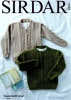 Knitting Pattern - Sirdar 2505 - Supersoft Aran - Sweaters