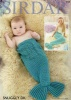 Knitting Pattern - Sirdar 4708 - Snuggly DK - Mermaid Tail Snugglers