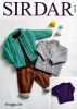 Knitting Pattern - Sirdar 4943 - Snuggly DK - Baby's and Girl's Cardigans and Sweater