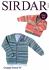 Knitting Pattern - Sirdar 5174 - Snuggly Rascal DK - Baby Boy's and Boy's Cardigans