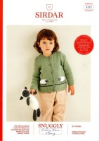 Knitting Pattern - Sirdar 5373 - Snuggly Cashmere Merino DK - Cardigan & Sheep Toy