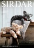 Knitting Pattern - Sirdar 2496 - Alpine Super Chunky Fur and Supersoft Aran - Cats