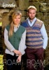 Knitting Pattern - Wendy 5794 - Roam 4 Ply - Tank Top and Waistcoat