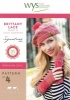 Knitting Pattern - WYS4  - 4Ply - Brittany Lace Beret & Handwarmers